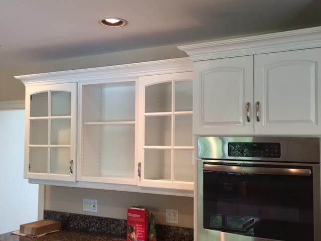Cabinet Refinishing by Fine Line Painting in Billerica, MA